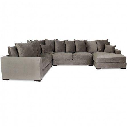 Jonathan Louis Bella Granite Sectional Sofa Living Room Gallery Furniture