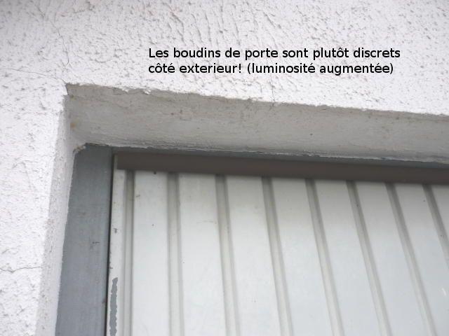 ponts thermiques au garage optimisation d 39 une porte et murs isolation thermique pinterest. Black Bedroom Furniture Sets. Home Design Ideas