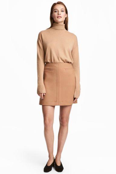 d88c85012d5974 Jupe de longueur genou | Great details | Denim skirt, Skirts et Fashion