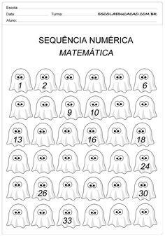 Atividade Sequencia Numerica Sequencia Ate Numero 30