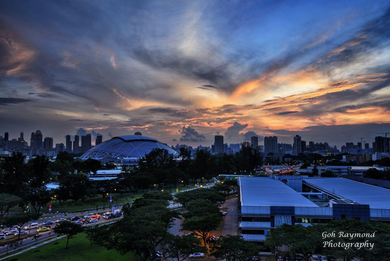 Sundown @ Singapore Sport Hub by GohRaymond Photography on 500px