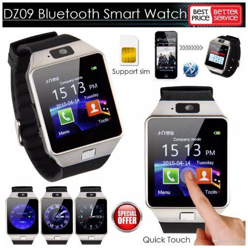 Smart Watch dz09 With Camera Bluetooth WristWatch SIM Card
