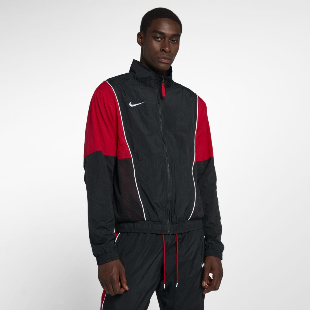 3e85cf5a7c Throwback Men's Tracksuit Basketball Jacket | Products | Track suit ...