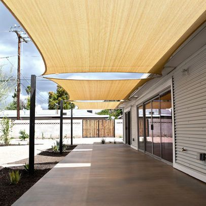 Modern Awning Design Ideas Pictures Remodel And Decor Backyard Shade Patio Shade Patio Canopy