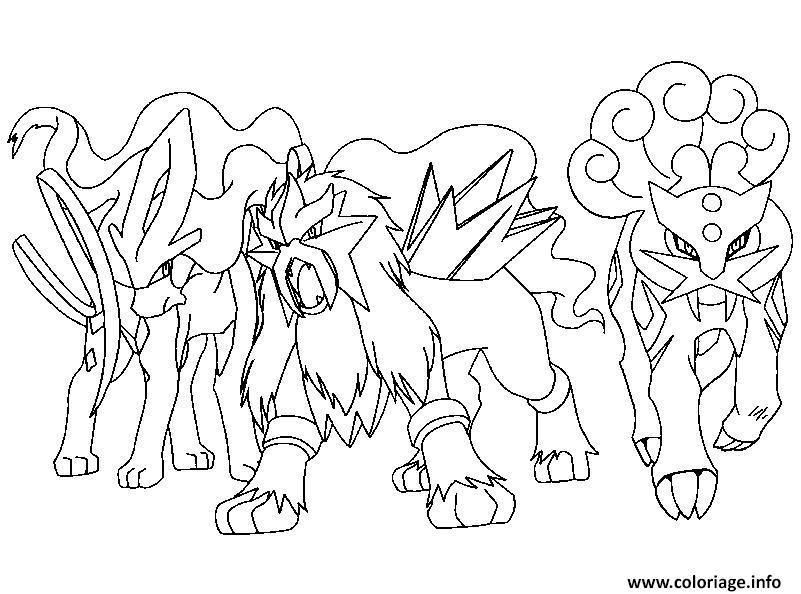 Coloriage Pokemon Legendaire A Imprimer Pokemon Coloring