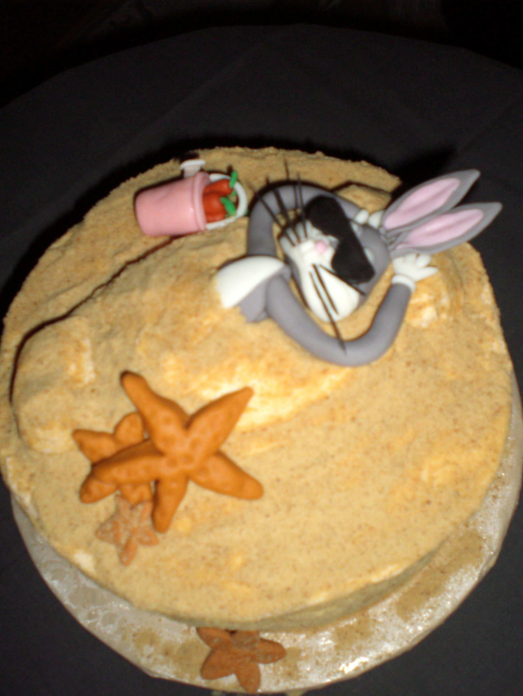 Bugs Bunny Cake Decorations