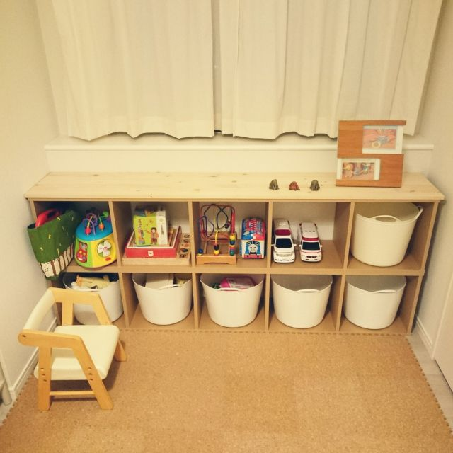 My Shelf無印良品無印 パルプボードボックスおもちゃ収納子ども部屋
