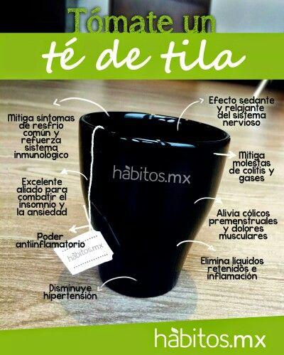 el te de tilo sirve para bajar de peso