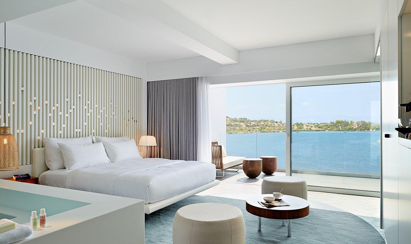 NIKKI BEACH HOTEL BODRUM Hotel room design, Beach hotel