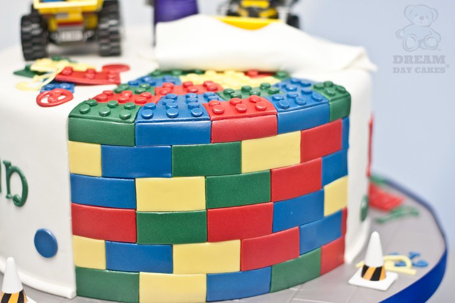 Construction Lego Birthday Cake Gainesville Dream Day Cakes Cake
