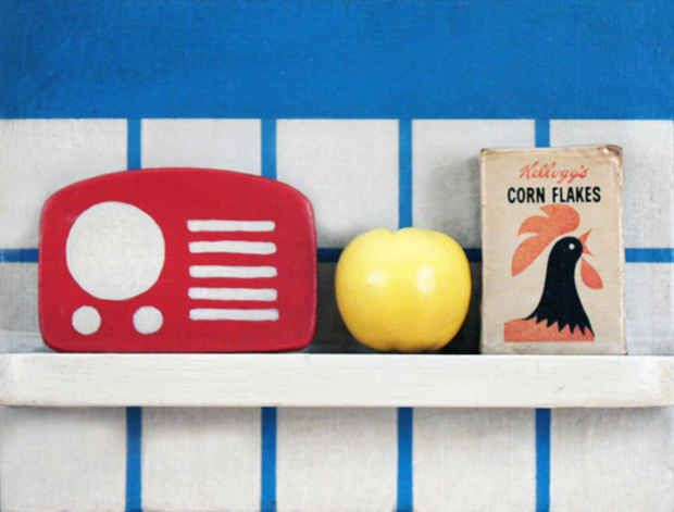 Tom Wesselmann, 1964. Little Still Life 21. Mixed media and collage on board.