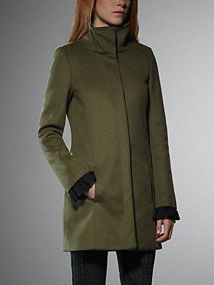 3c03850c5e3 women's coats & jackets - Patrizia Pepe   Fashion trends   Cashmere ...