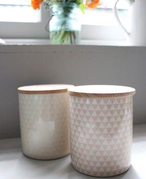 Set Of Two Danish Storage Jars