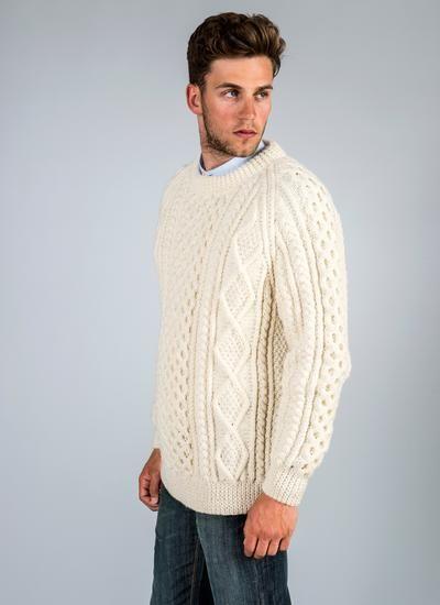 Men\'s Aran Sweaters, Cardigans, Caps, Cufflinks, Ties   Blarney ...