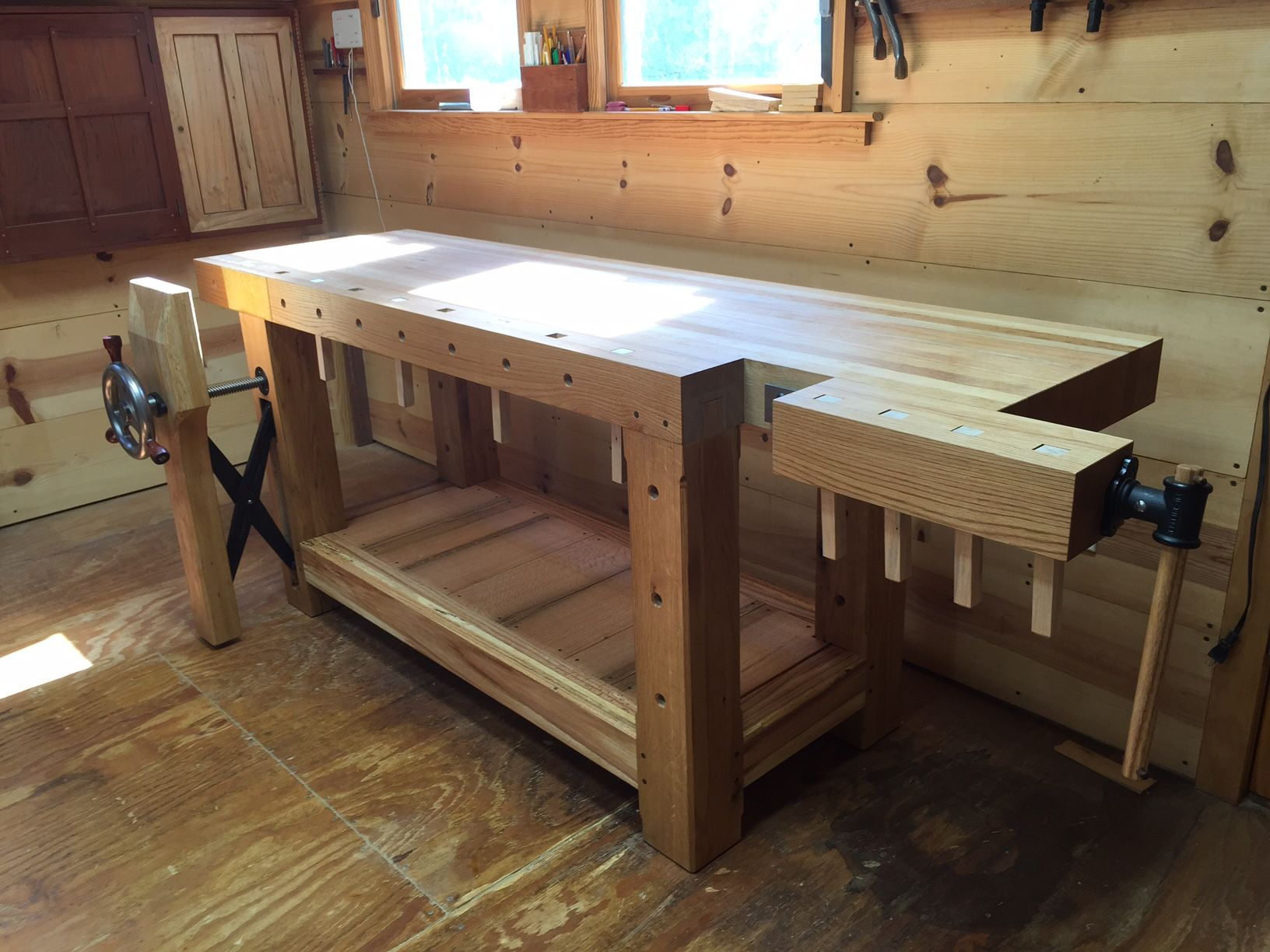 Tavolo Da Lavoro Roubo : Roubo workbench reader s gallery fine woodworking workbench