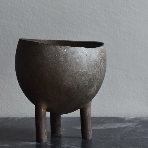 Peter Bauhuis; Silver Vessel, 2010s.