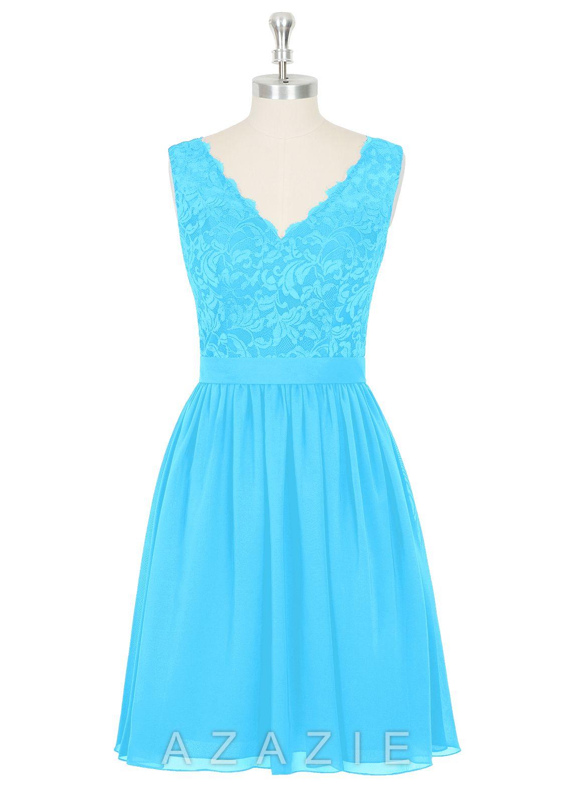 Pool Blue C Bridesmaid Dresses