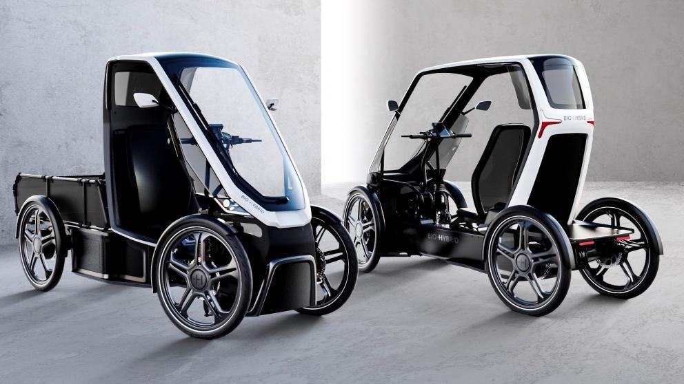 Schaeffler Bio Hybrid Das Fahrrad Mit Dach Und Vier Radern