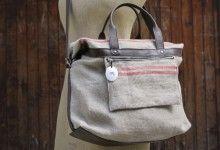 Bag 100% linen | Manufacture des rigoles