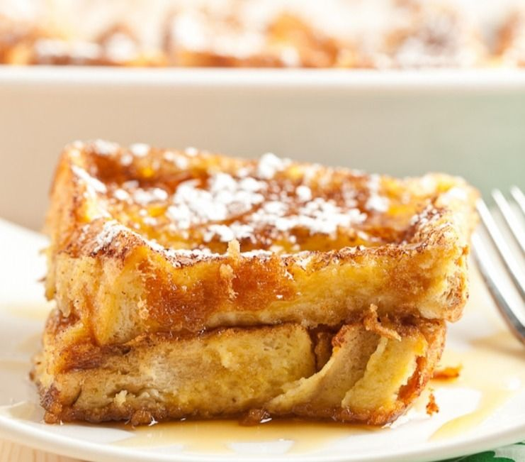 Easiest Overnight French Toast Bake | LifeStyle List