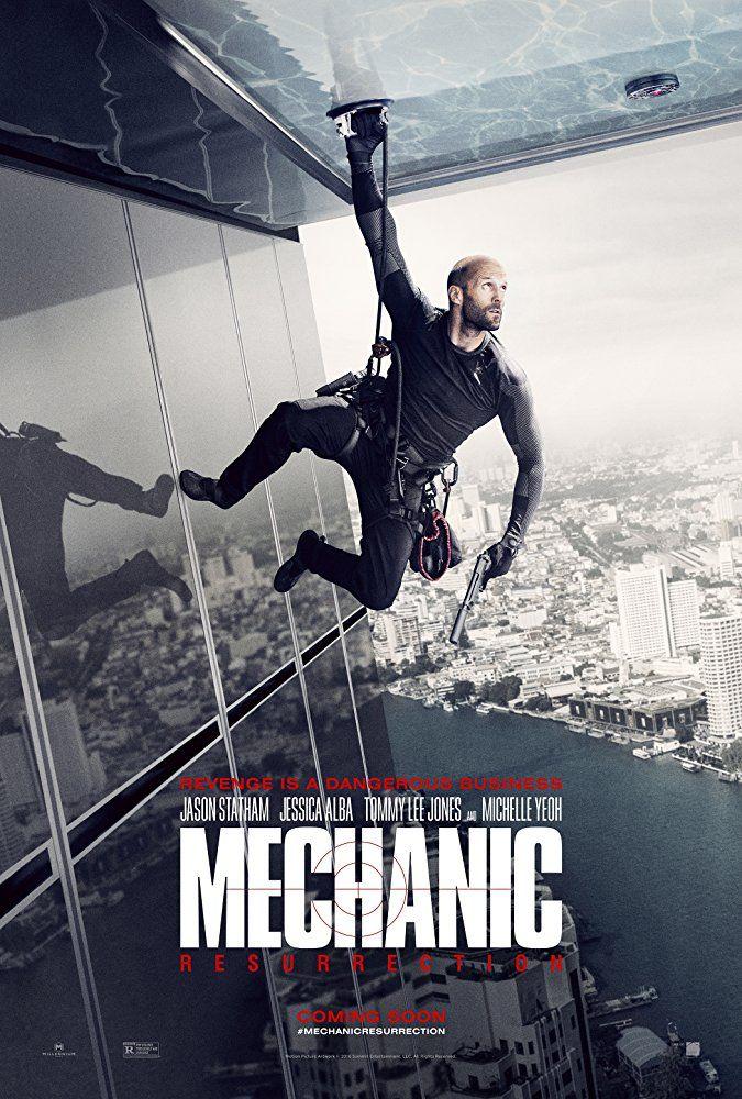 Mechanic Resurrection 2016 Cartazes De Cinema Jason Statham