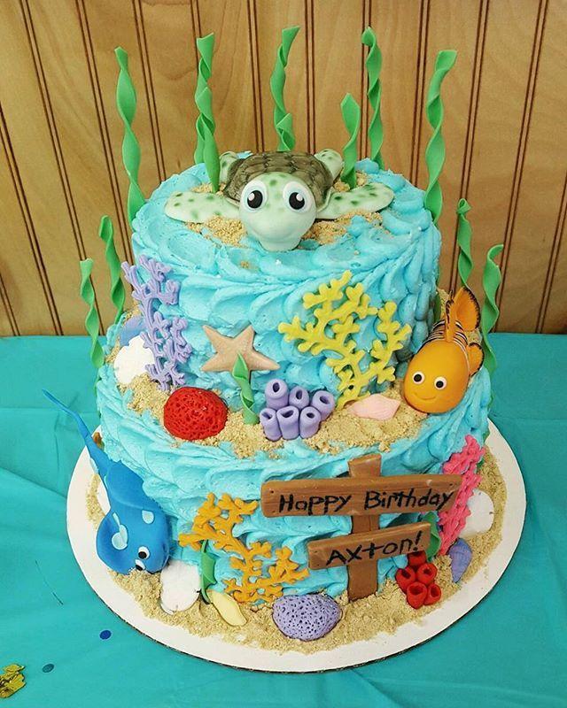 First Birthday Cake First Birthday Cake Underthesea Sea