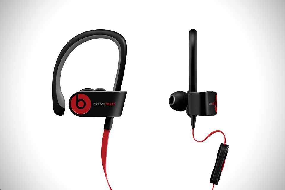 BEATS POWERBEATS2 WIRELESS EARBUDS - Each pair is completely wireless, and also completely sweat proof. A full charge will give you 6 hours of Bluetooth connectivity, while a quick 15 minute charge will give you enough juice for a 60 minute session.