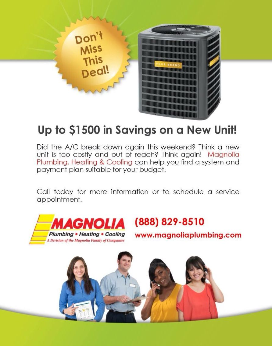 Www Magnoliaplumbing Com How To Plan The Unit Payment Plan