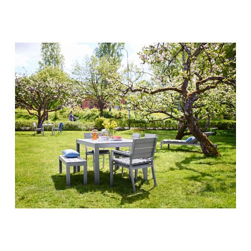 IKEA   FALSTER, Table, Outdoor, , The Polystyrene Slats Are  Weather Resistant And Easy To Care For.The Furniture Is Both Sturdy And  Lightweight As The Frame ...