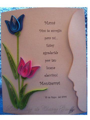Tarjeta Con Perfil De Nina Para 10 De Mayo Tarjeta 10 De Mayo Manualidades 10 De Mayo Manualidades