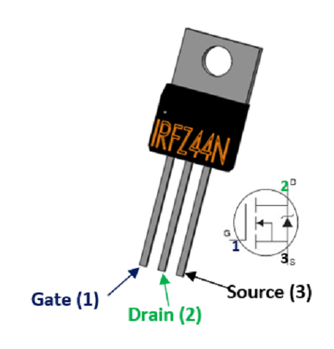 Irfz44n Pinout Smartphone Repair Electronics Basics Diy Electronics