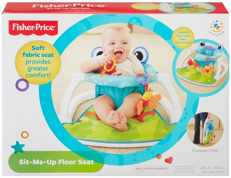 Amazon Com Fisher Price Sit Me Up Floor Seat Multicolor Baby