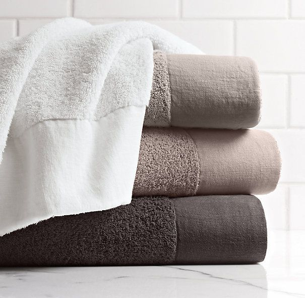 Linen Bordered 650 Gram Turkish Bath Towel In 2019 Towels