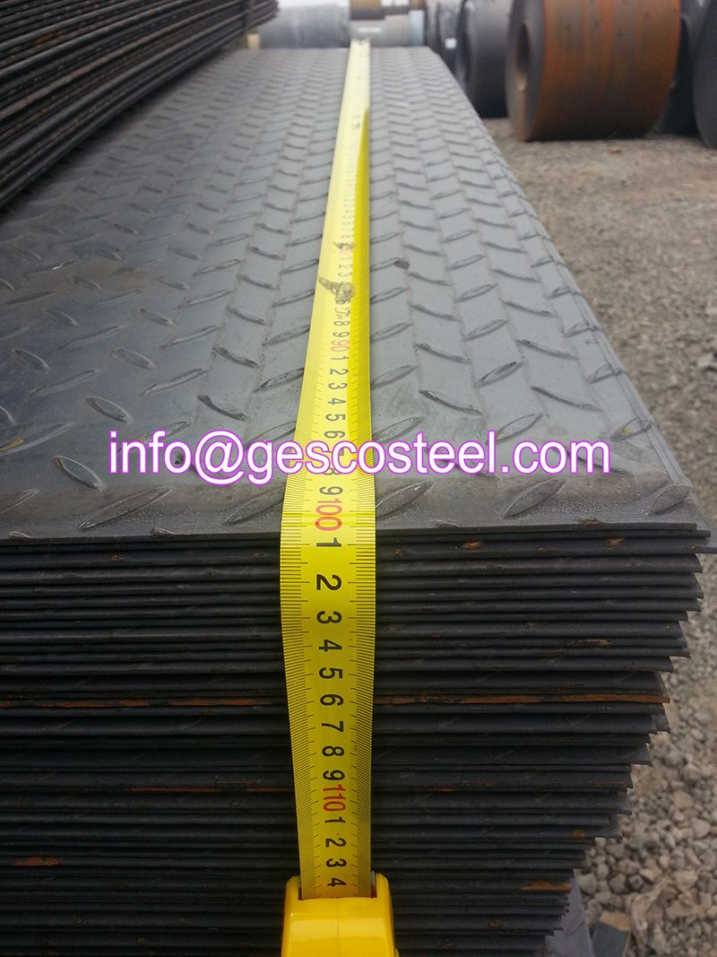 Checkered Steel Plate Gnee Steel Group
