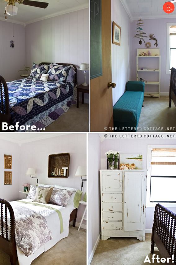 Roundup 10 Inspiring Budget Friendly Bedroom Makeovers