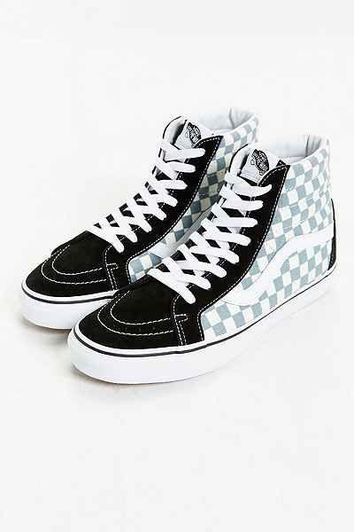 e1f11f274253e1 Vans SK8-Hi Reissue Checked Sneaker