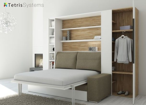 Detalle camas abatibles de matrimonio pinterest for Futon sofa cama plegable