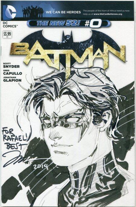 Nightwing sketch cover - Jim Lee   Superheroes-sketch   Pinterest ...