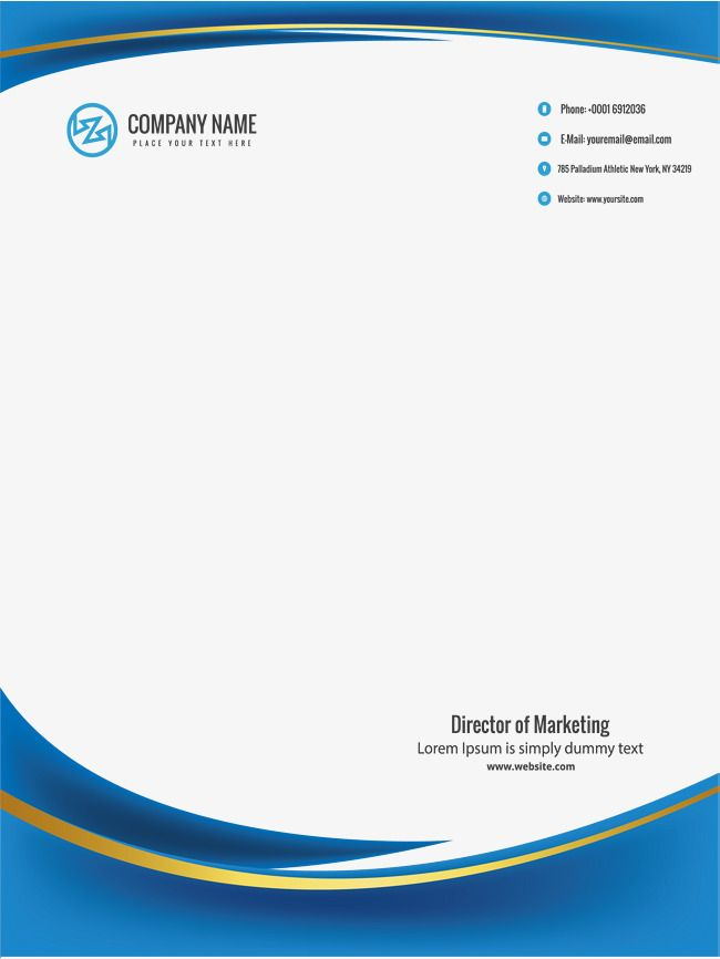 Negocio borde azul, Vector PNG, Frontera Azul, Negocio PNG y Vector ...