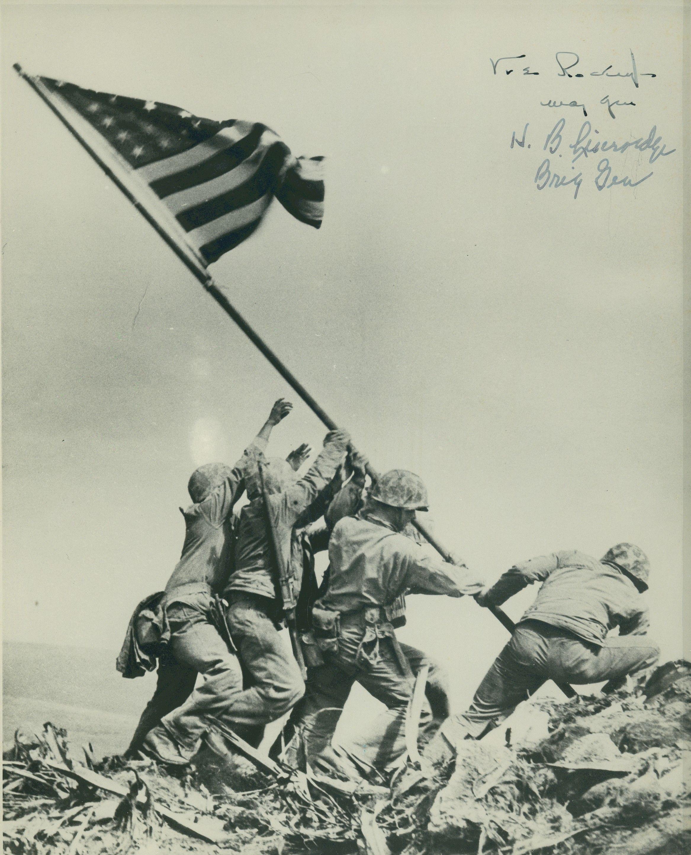 Flag Raising On Iwo Jima 23 February 1945 Iwo Jima Iwo Jima Flag Iwo