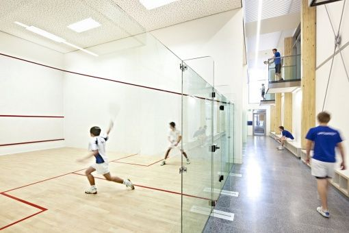 Squash courts weird business pinterest for Cost to build a racquetball court
