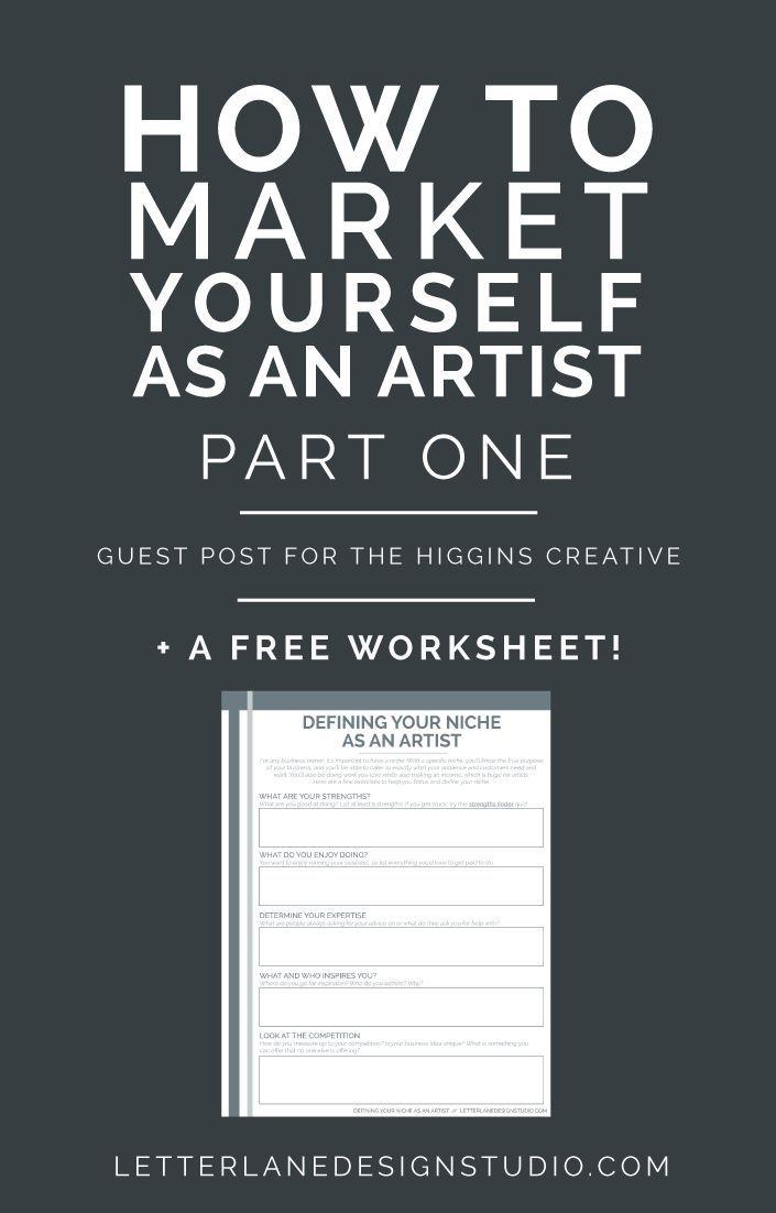 How To Market Yourself As An Artist Part One Letter Lane Design Studio Art Business Artist Business Marketing