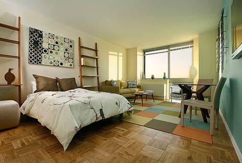 Ideas for Decorating a Studio Apartment Pictures of Studio