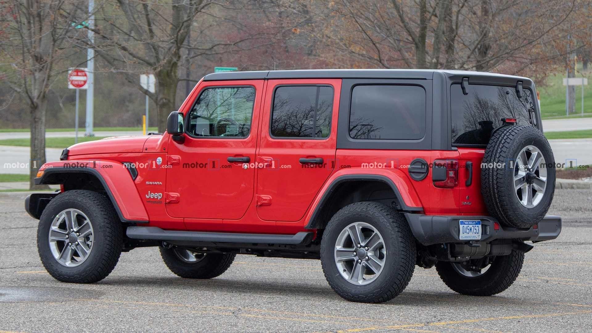 2020 Jeep Wrangler Diesel Spied Hiding In Plain Sight Jeep Wrangler Diesel Jeep Wrangler Jeep