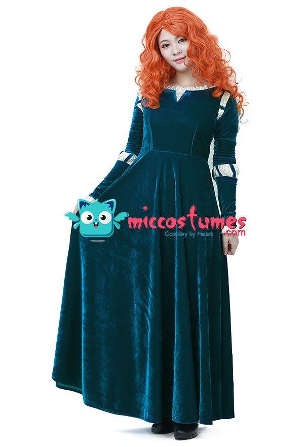 Brave Merida Cosplay Costume sales at miccostumes for cosplayers - halloween decorations for sale