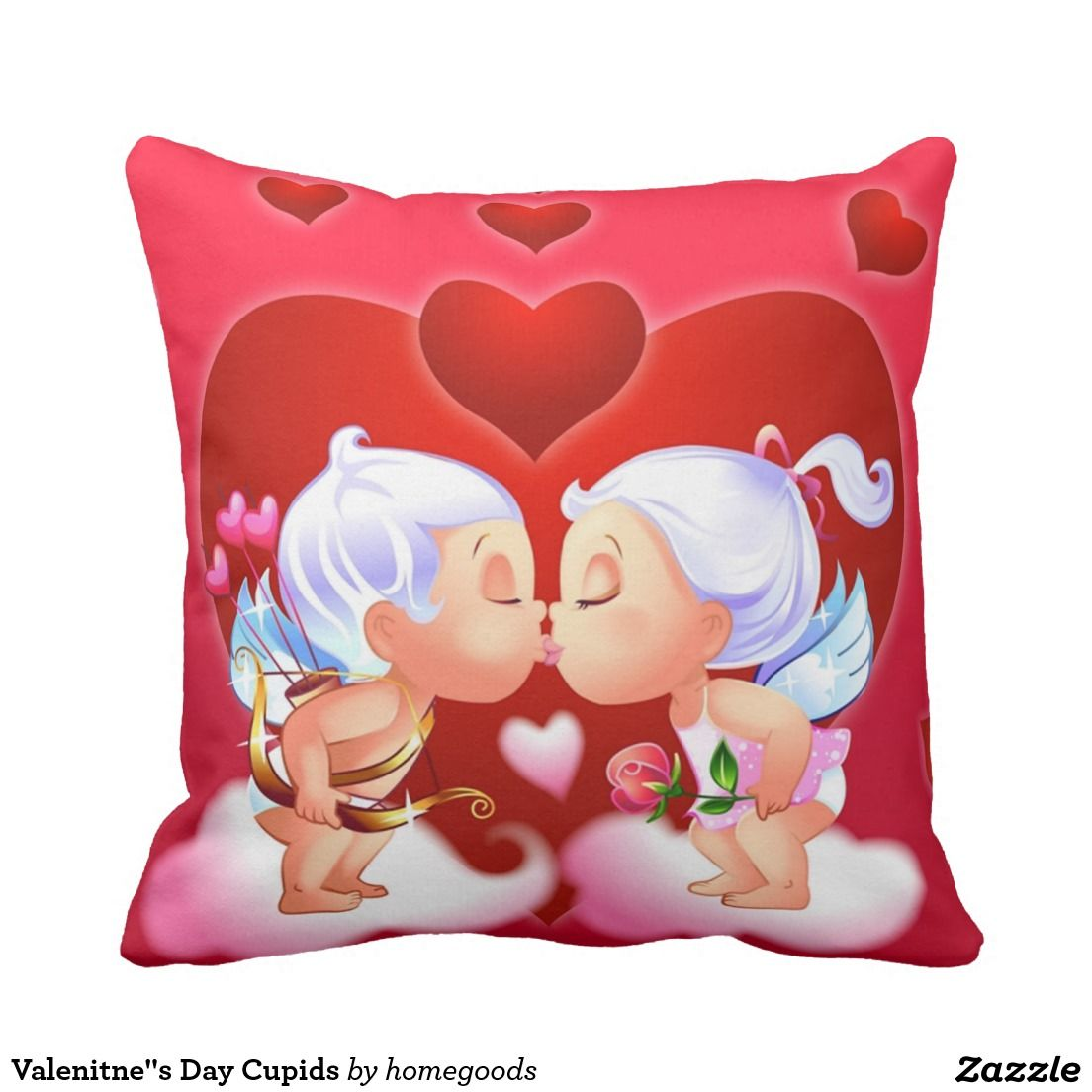 "Valenitne""s Day Cupids Pillow"