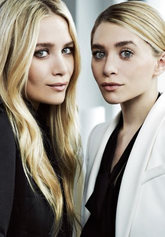 Olsen twins. Flawless skin and great hair!
