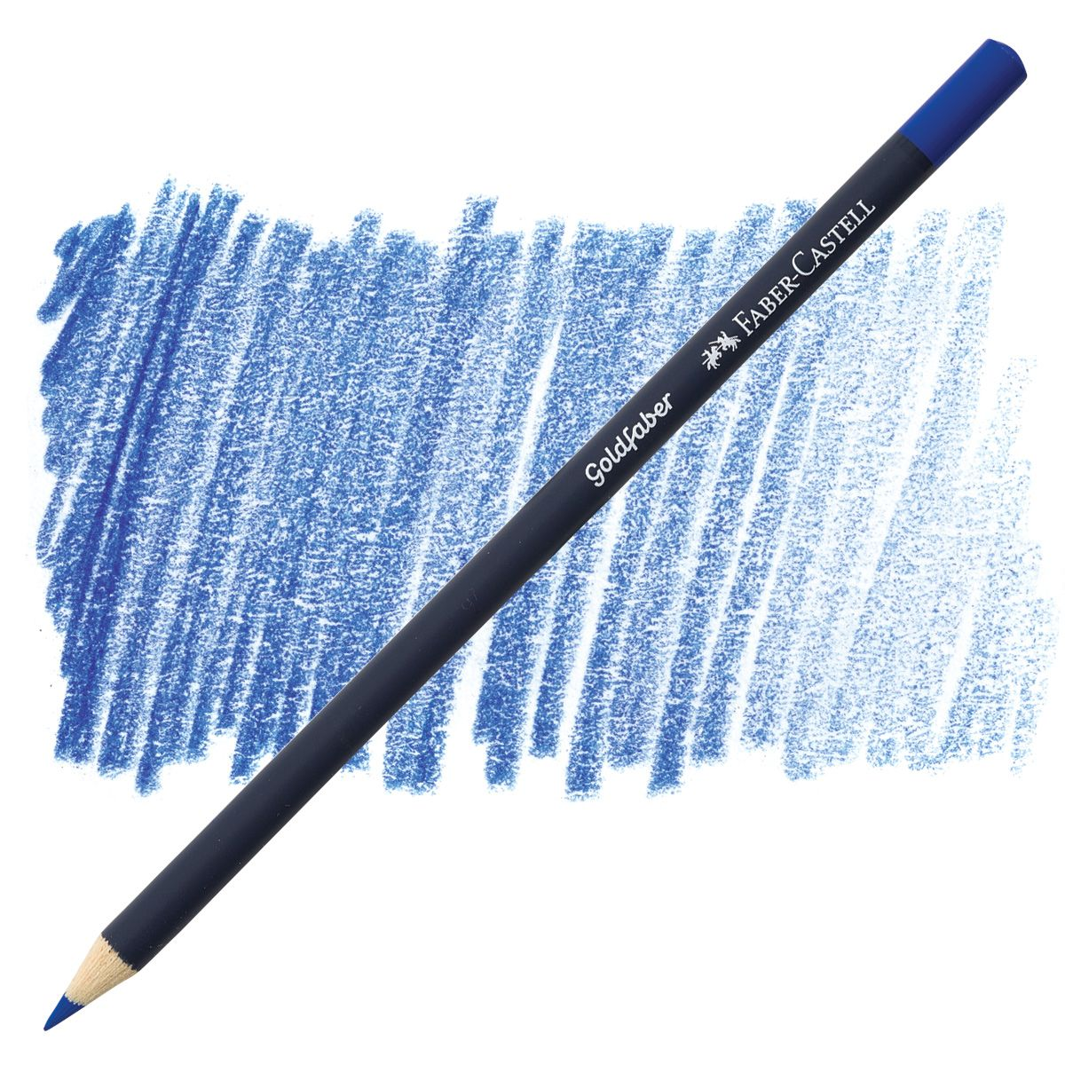 Regular Colored Pencil Cobalt Blue 143 By Faber Castell Faber