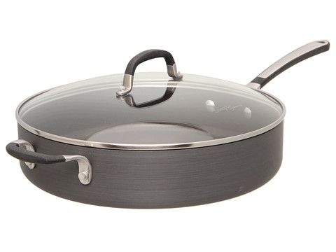 Calphalon Simply Calphalon 5 Qt Saute Pan The Home Bakeware Calphalon 5 qt saute pan