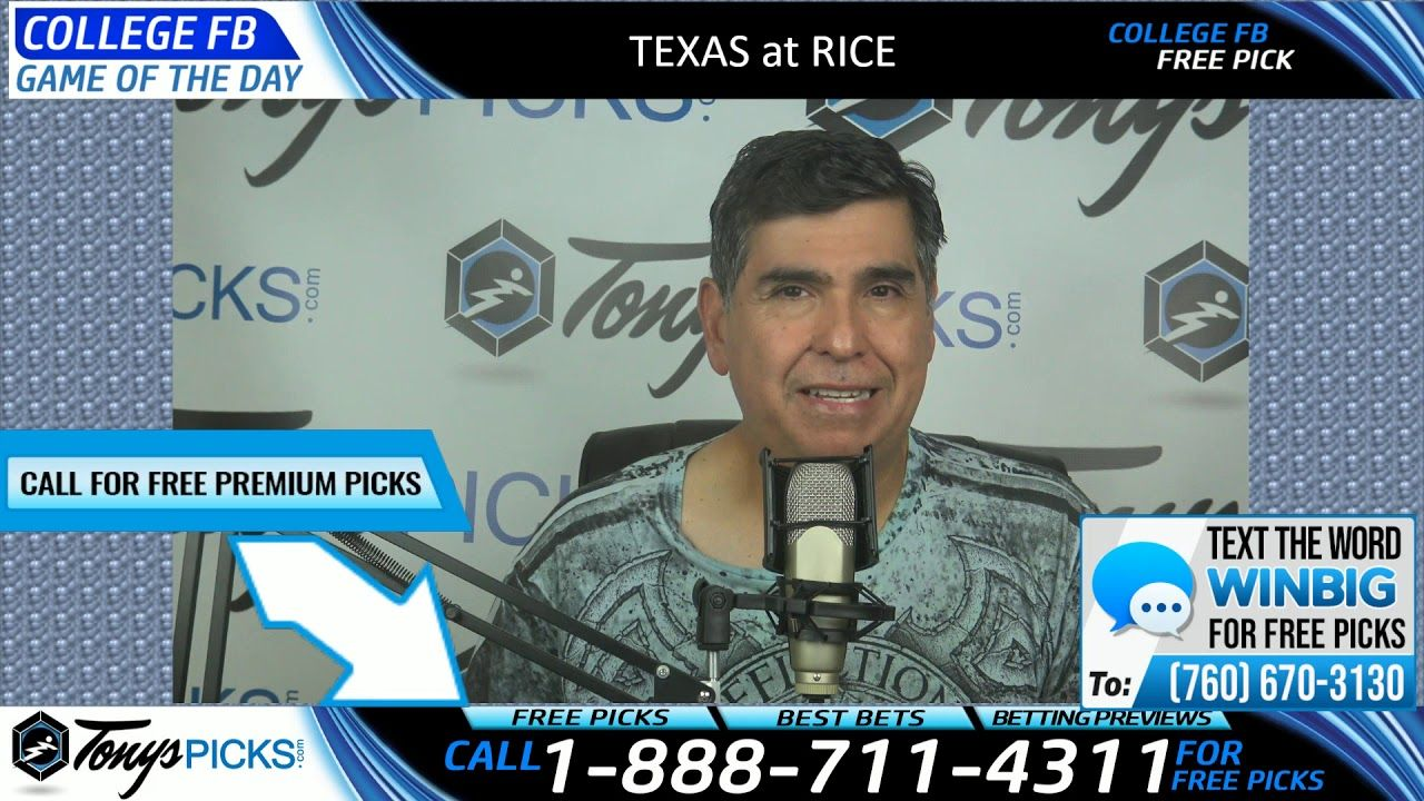 Texas vs. Rice Free NCAA Football Picks and Predictions 9